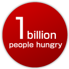 1 billion people hungry